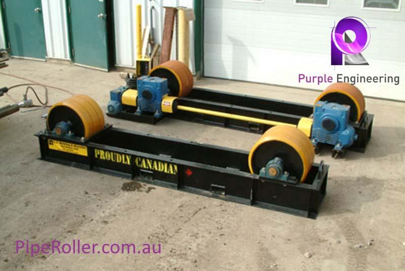 75 Ton Vessel Turning Rolls, 75 Ton Vessel Roller, 75 Ton Vessel Rotator au