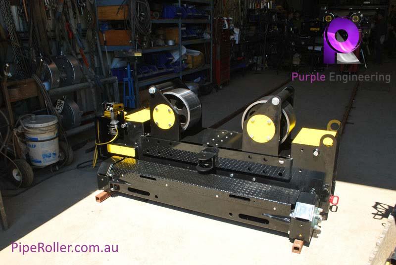 20 Ton Pipe Alignment Rolls, 20 Ton Pipe Alignment Rollers, 20 Ton Pipe Alignment Rotator
