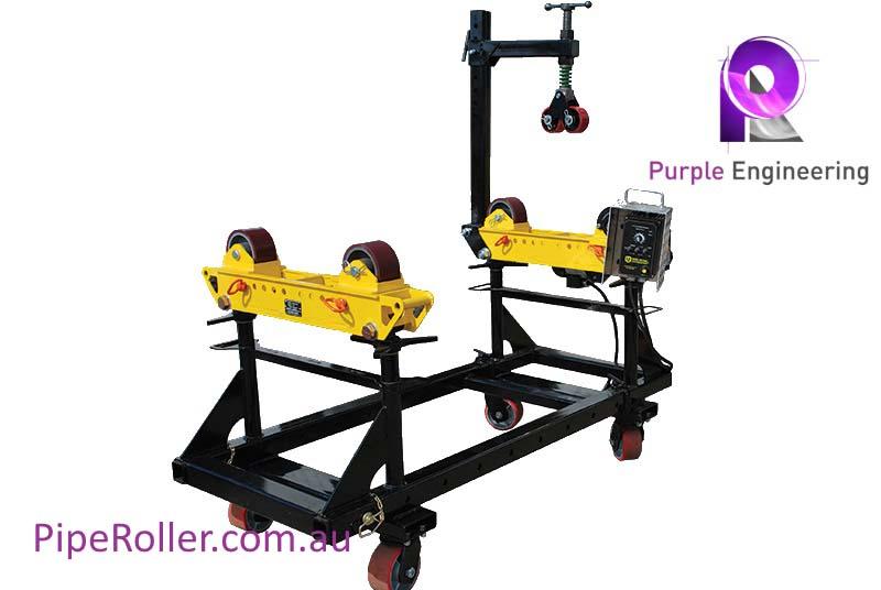 pipe roller cart, pipeline cart, Pipe Alignment Rotator