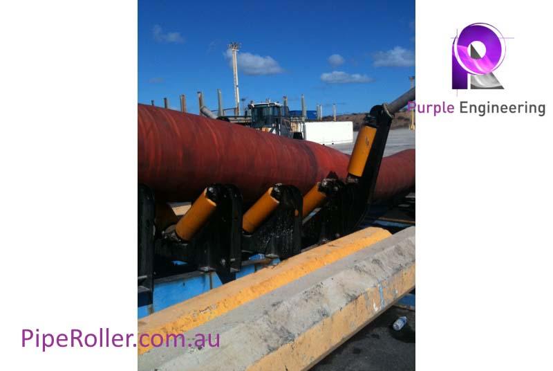 Pipeline Shute Roller