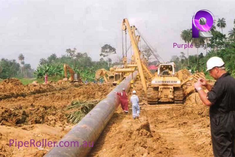 Rolli Cradles, Pipeline Cradle, pipeline Cradle roller
