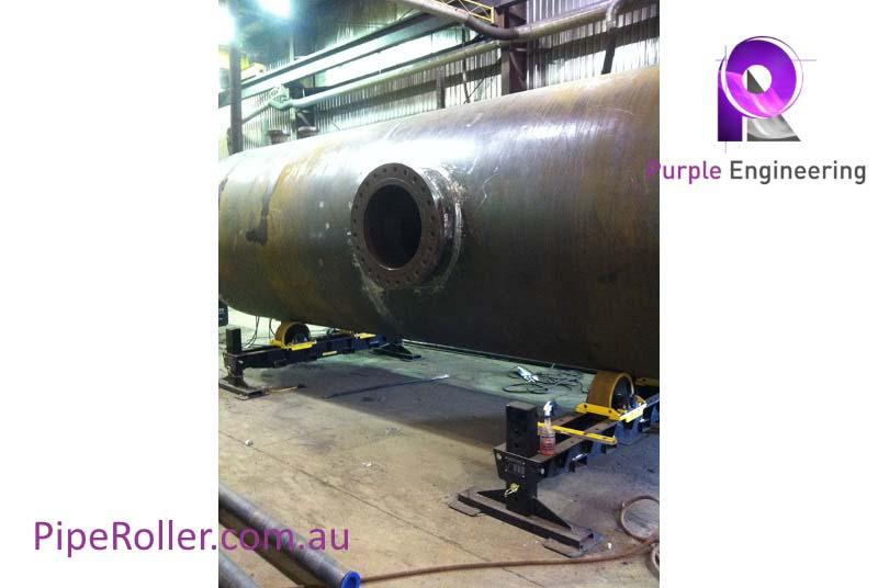 12 Ton Vessel Turning Rolls, 12 Ton Vessel Roller, 12 Ton Vessel Rotator au