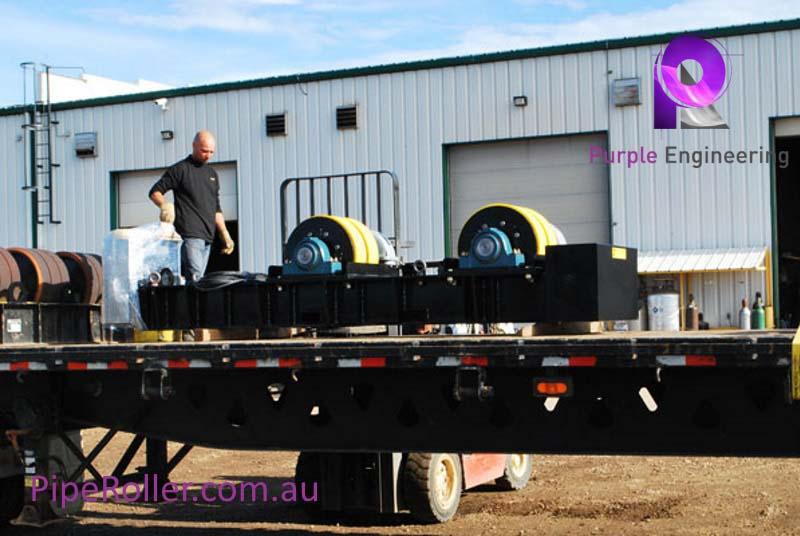 120 Ton Vessel Turning Rolls, 120 Ton Vessel Roller, 120 Ton Vessel Rotator au