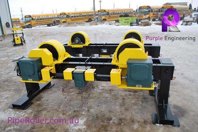 20 Ton Vessel Turning Rolls, 20 Ton Vessel Roller, 20 Ton Vessel Rotator au