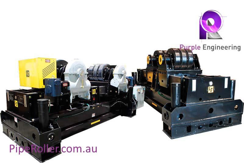 200 Ton Vessel Turning Rolls, 200 Ton Vessel Roller, 200 Ton Vessel Rotator au