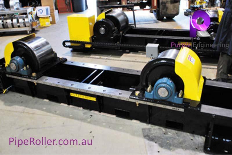 80 Ton Vessel Turning Rolls, 80 Ton Vessel Roller, 80 Ton Vessel Rotator au